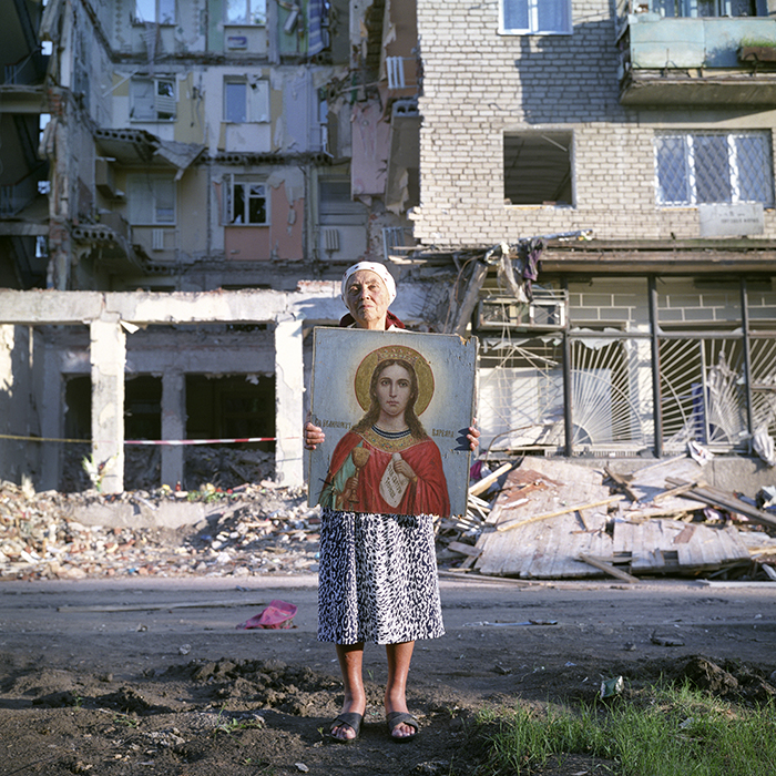Nikolaevka, Donetsk region, Donbass, Southeast Ukraine, 22 July